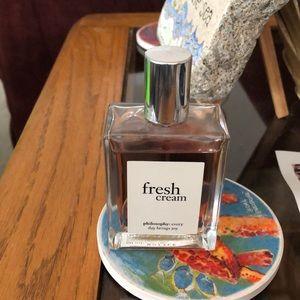 Philosophy Fresh Cream cologne spray- 2 oz